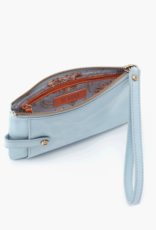 HOBO King Whisper Blue Vintage Hide Leather Wristlet