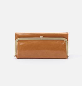 HOBO Rachel Honey Vintage Leather Foldover Wallet