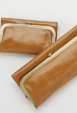 HOBO Rachel Honey Vintage Leather Foldover Wallet