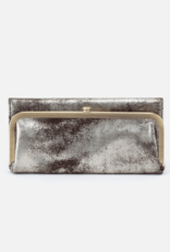 HOBO Rachel Heavy Metal Leather Foldover Wallet