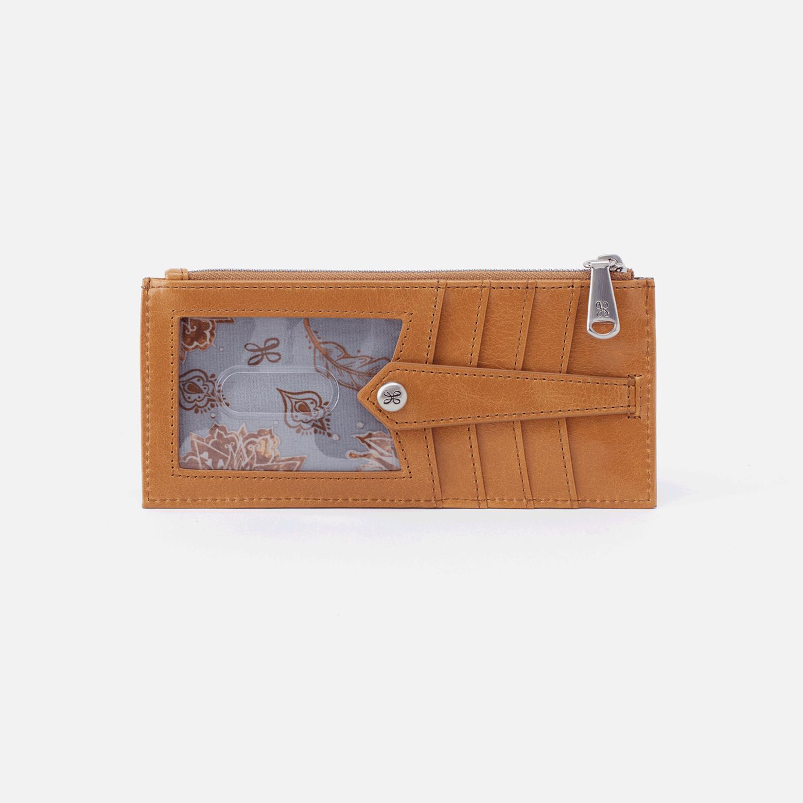 HOBO Linn Honey Vintage Hide Leather Wallet/CCHolder