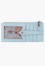 HOBO Linn Whisper Blue Vintage Hide Leather Wallet/CCHolder