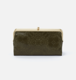 HOBO Lauren Mistletoe Vintage Hide Embossed Leather Wallet
