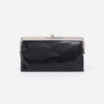 HOBO Lauren Black Vintage Hide Leather Wallet/Clutch