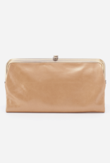 HOBO Lauren Gold Dust Leather Wallet/Clutch