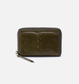HOBO Elm Mistletoe Vintage Hide Leather Wallet