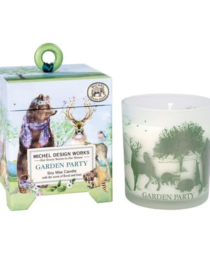 Garden Party 6.5 oz Soy Candle w/45Hour Burn Time