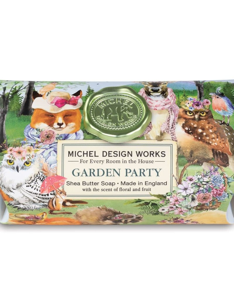 Garden Party Large Bar Soap