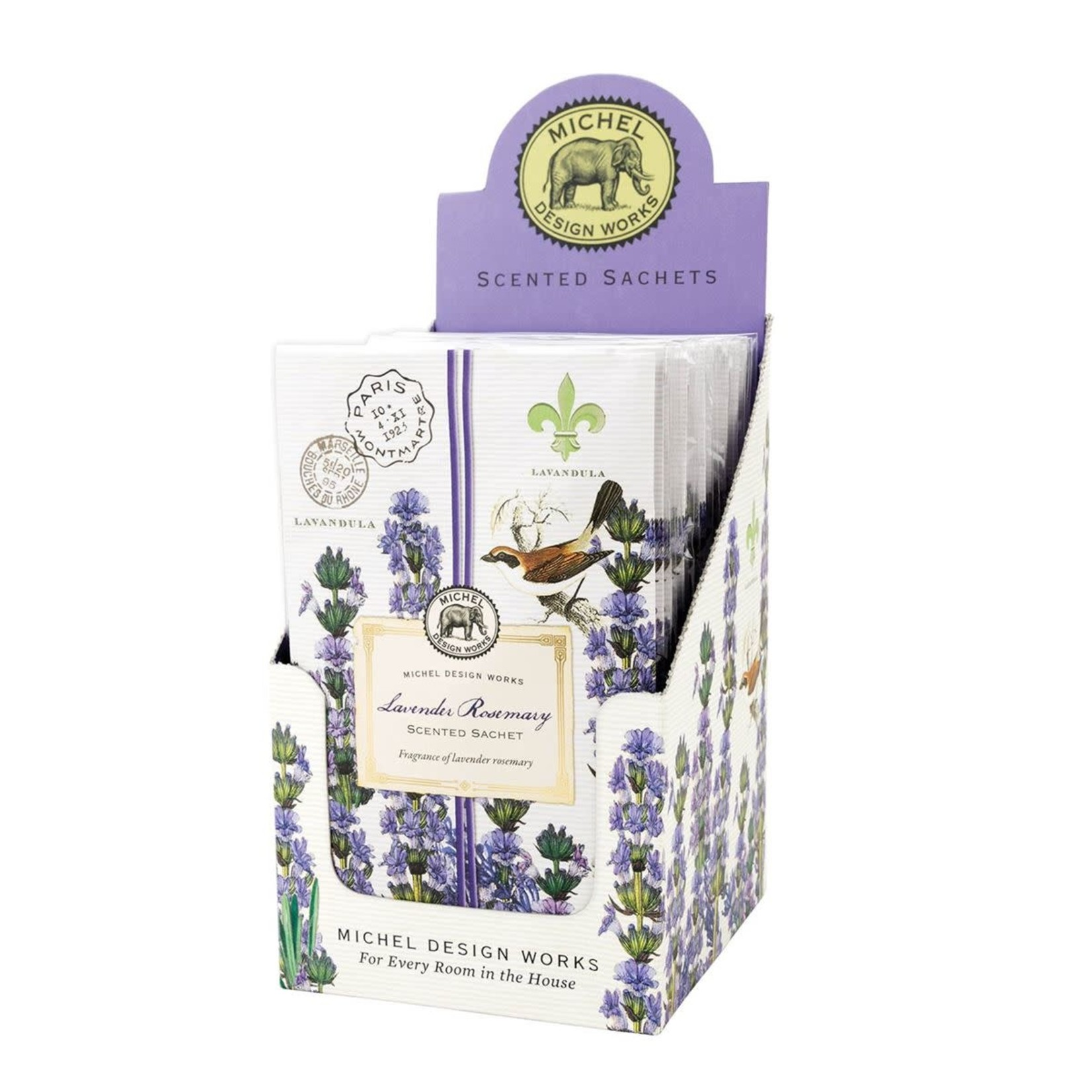 Michel Design Works Lavender Rosemary .7 oz Sachet Packet