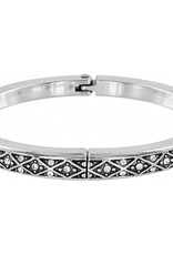 Brighton Diamond Hinged Bangle