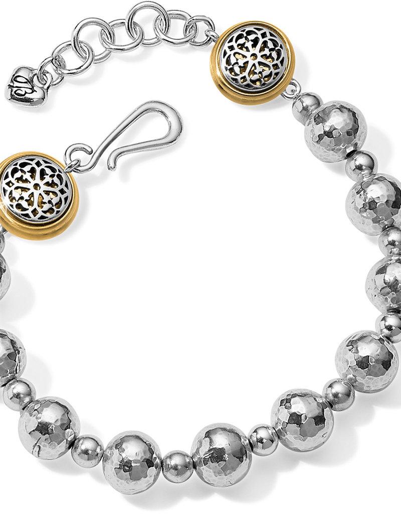 Brighton Ferrara Hammered Bead Bracelet