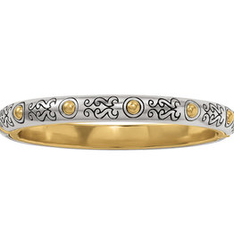 Brighton Aries Hinged Bangle Silver-Gold