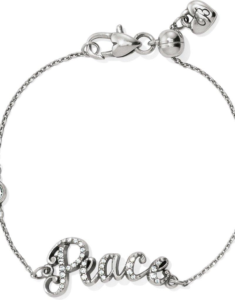 Brighton Peace Script Bracelet