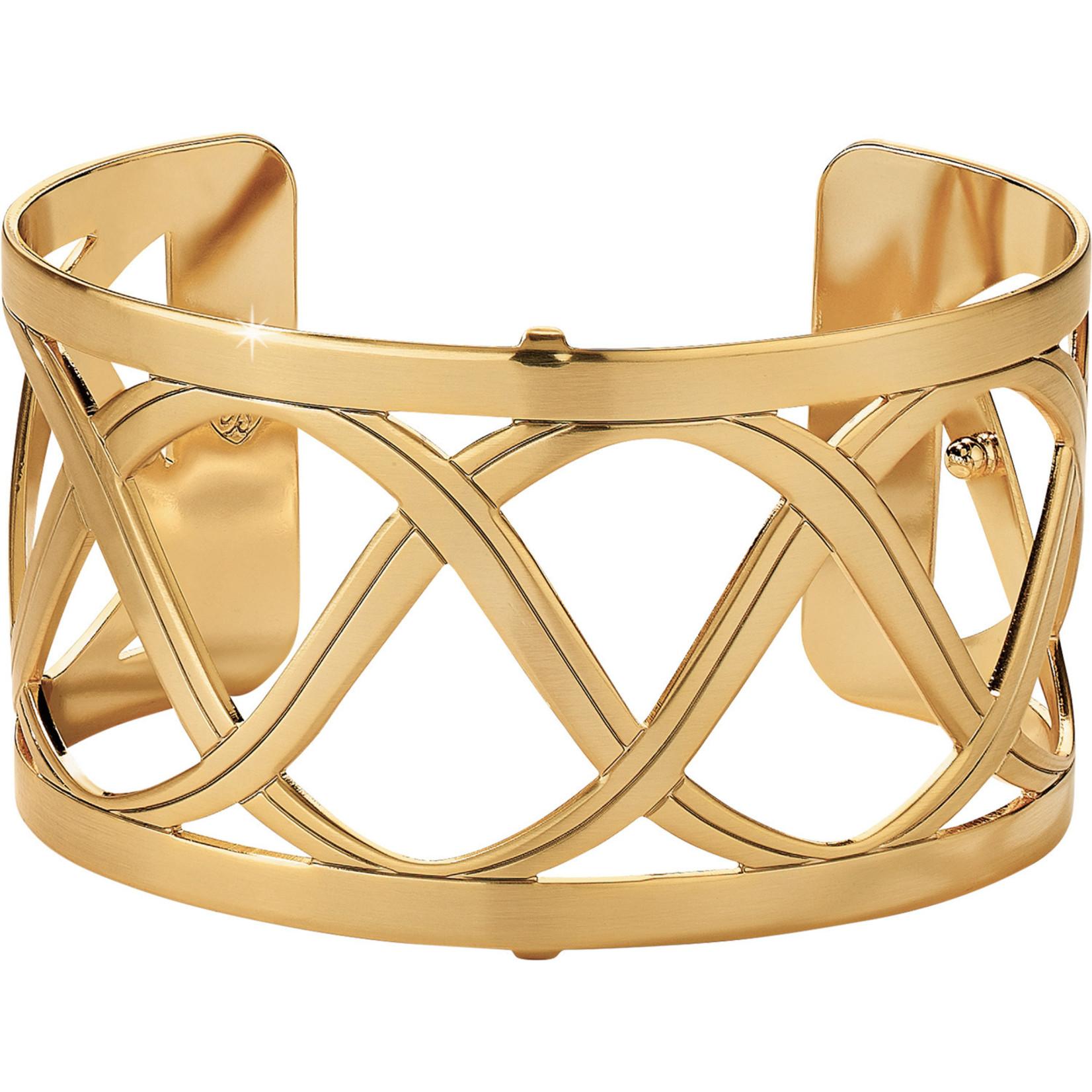 Brighton Christo Sydney Wide Cuff Bracelet