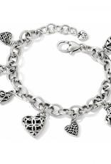 Brighton Limitless Heart Charm Bracelet