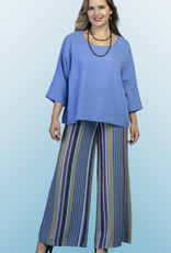 Blue Flair Top/ One SIze
