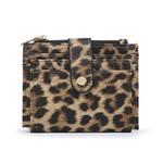 Leopard Wallet/Credit Card Holder in Vegan Leather