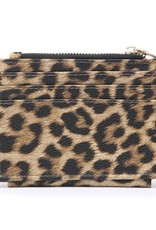 Leopard Wallet/Credit Card Holder in Vegan Leather