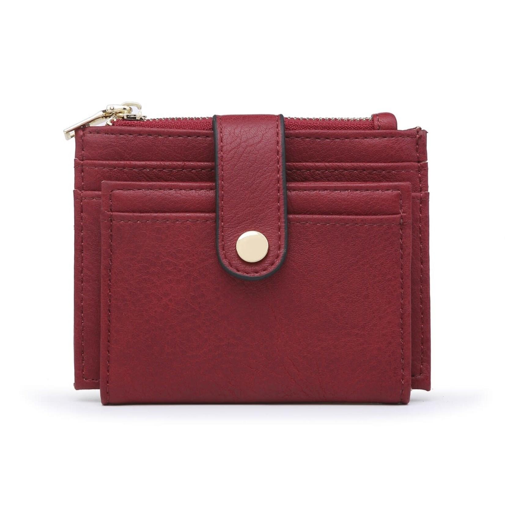 Wine Wallet/Credit Card Holder in Vegan Leather