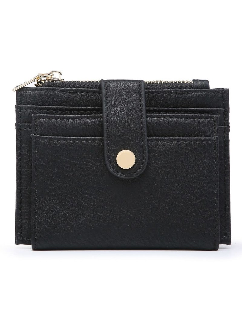 Black Wallet/Credit Card Holder in Vegan Leather