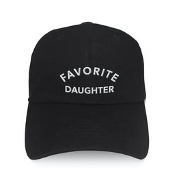 "Los Angeles Trading Co ""Favorite Daughter"" Black Cap"