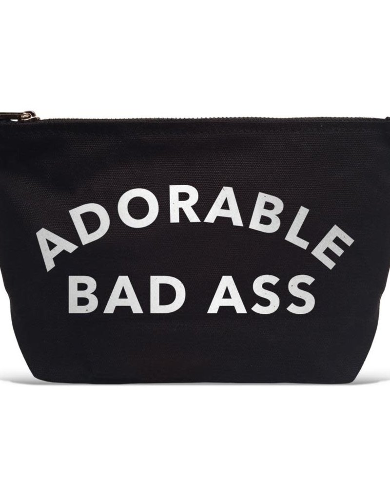 "Los Angeles Trading Co ""Adorable Bad Ass"" Pouch"