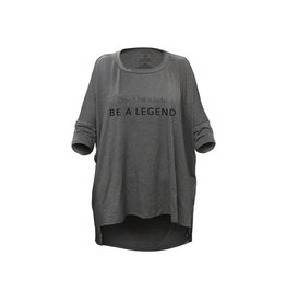 "Los Angeles Trading Co ""Be A Legend"" Grey One Size Tee"