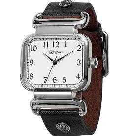 Brighton Montecito Reversible Watch; Size : Black-Brown