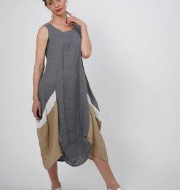 Luukaa Aria Sleeveless Linen Woven Dress