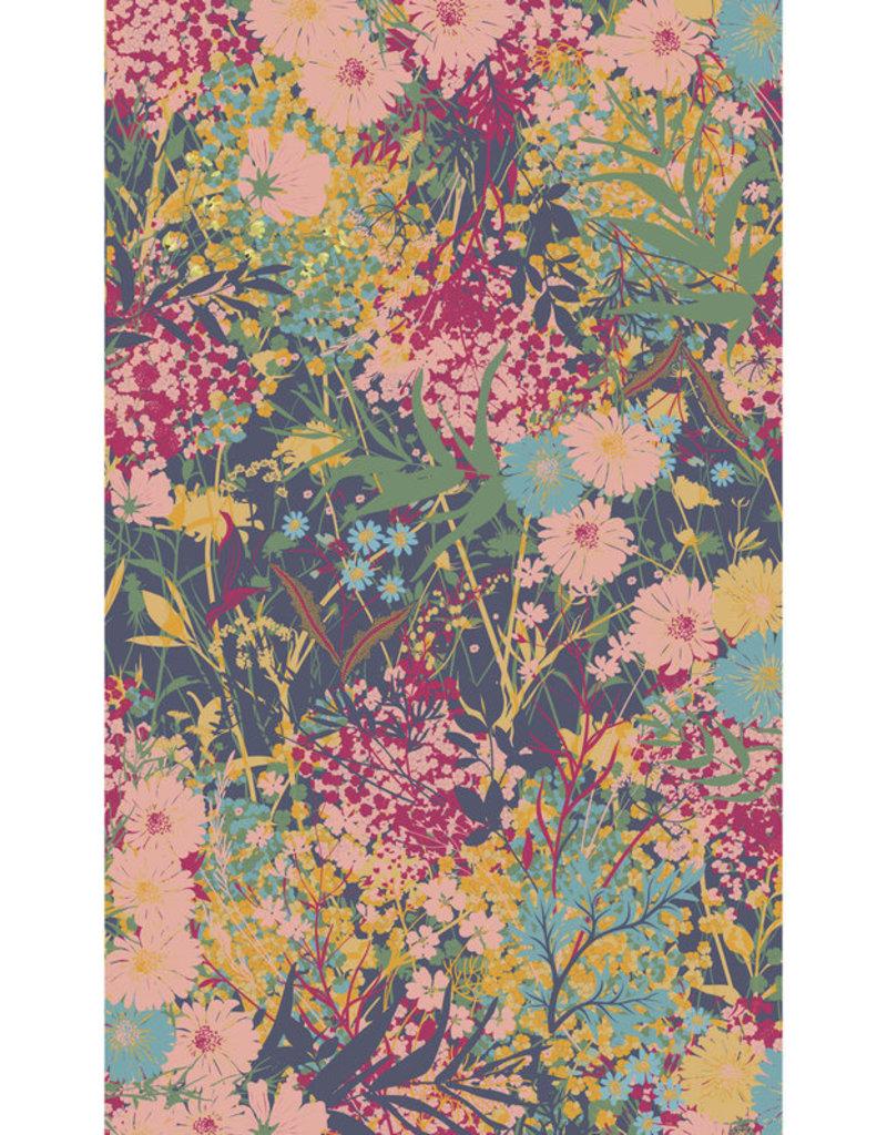 Powder Cottage Garden Print Scarf