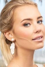 Spartina Earrings/ScaleShimmerPrlescent
