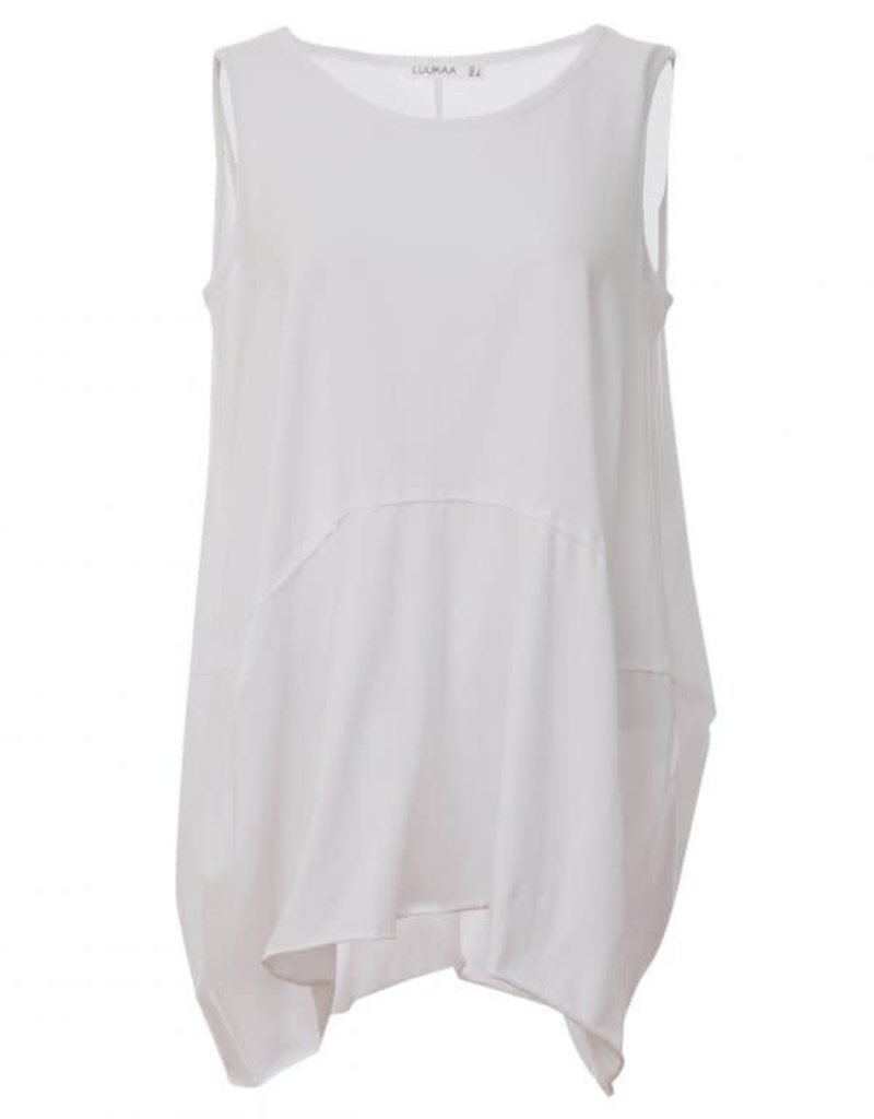 Luukaa Sleeveless Cotton Knitted Top