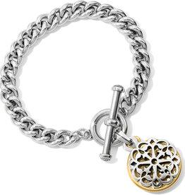 Brighton Ferrara Two Tone Toggle Bracelet
