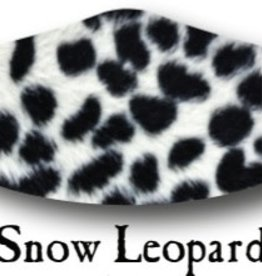 Deco Mask Snow Leopard Mask
