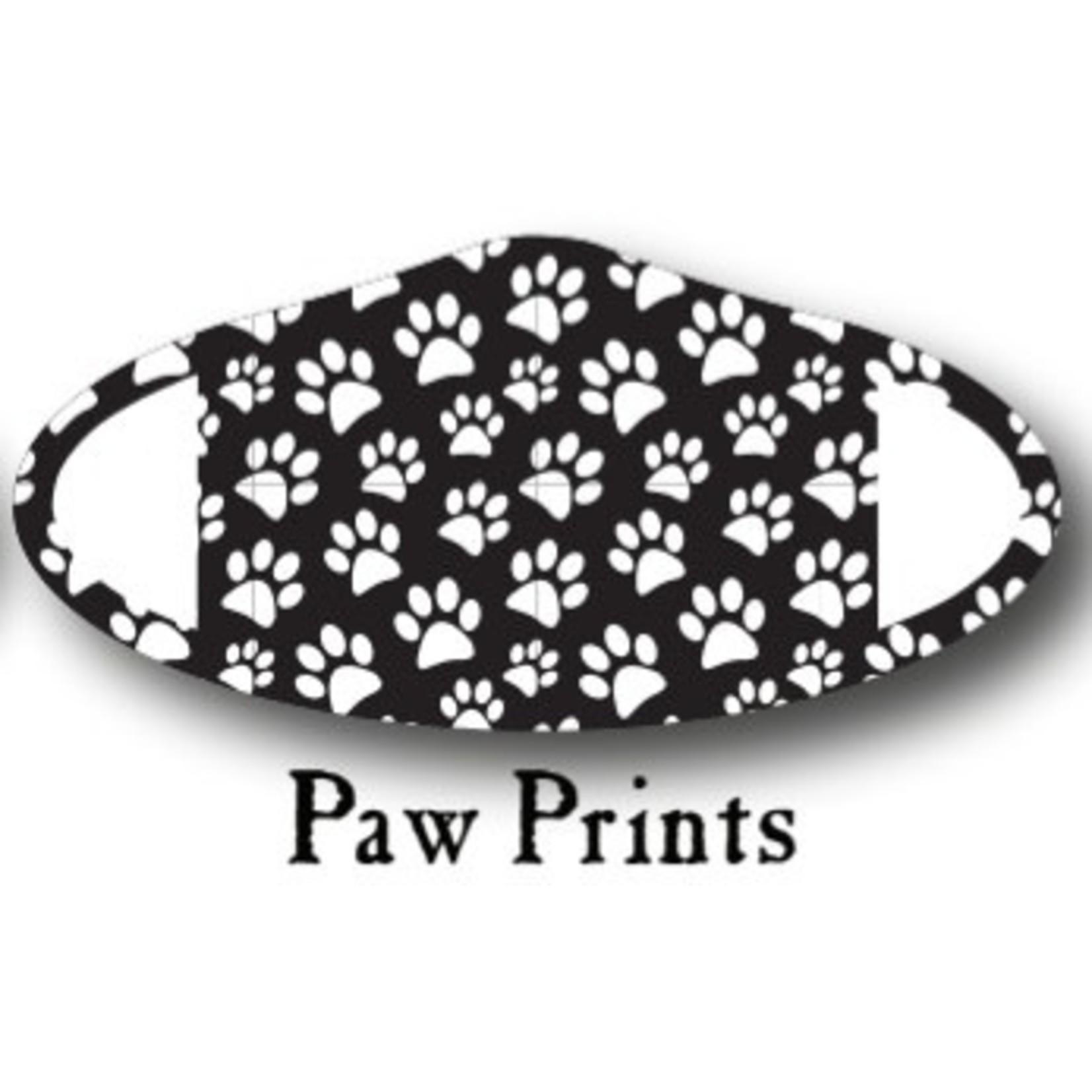 Deco Mask Paw Prints Mask