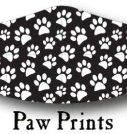 Paw Prints Mask