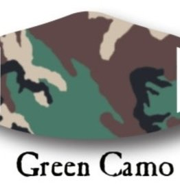 Deco Mask Green Camo Mask