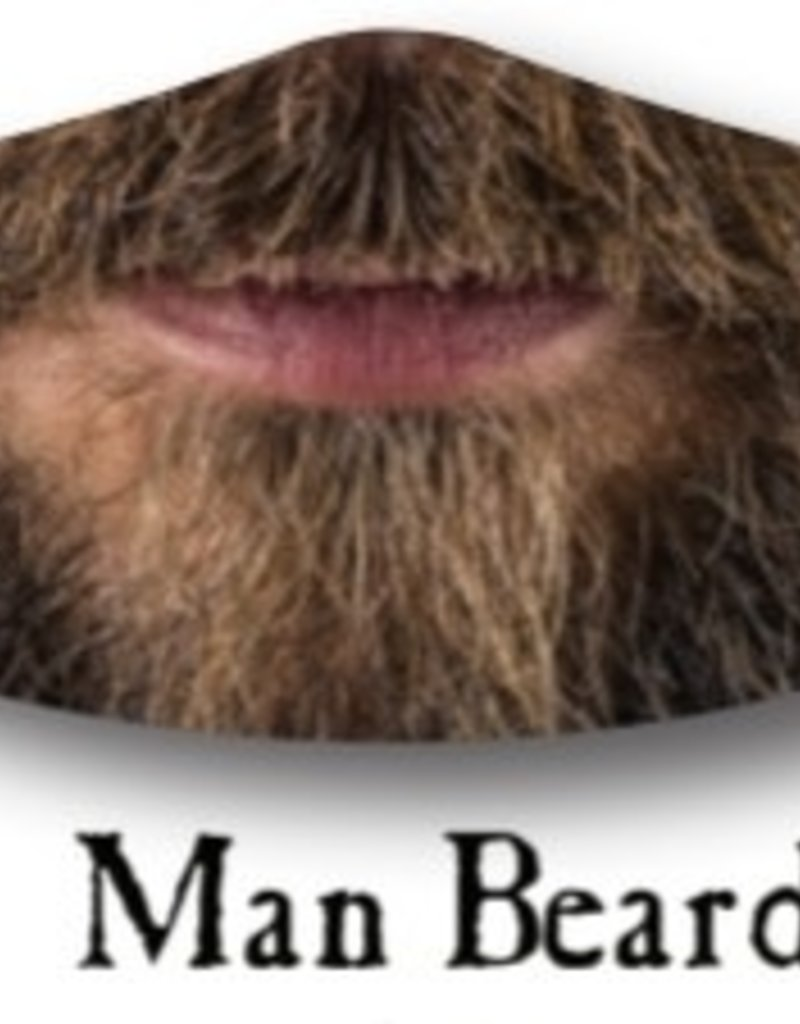 Deco Mask Man Beard Mask