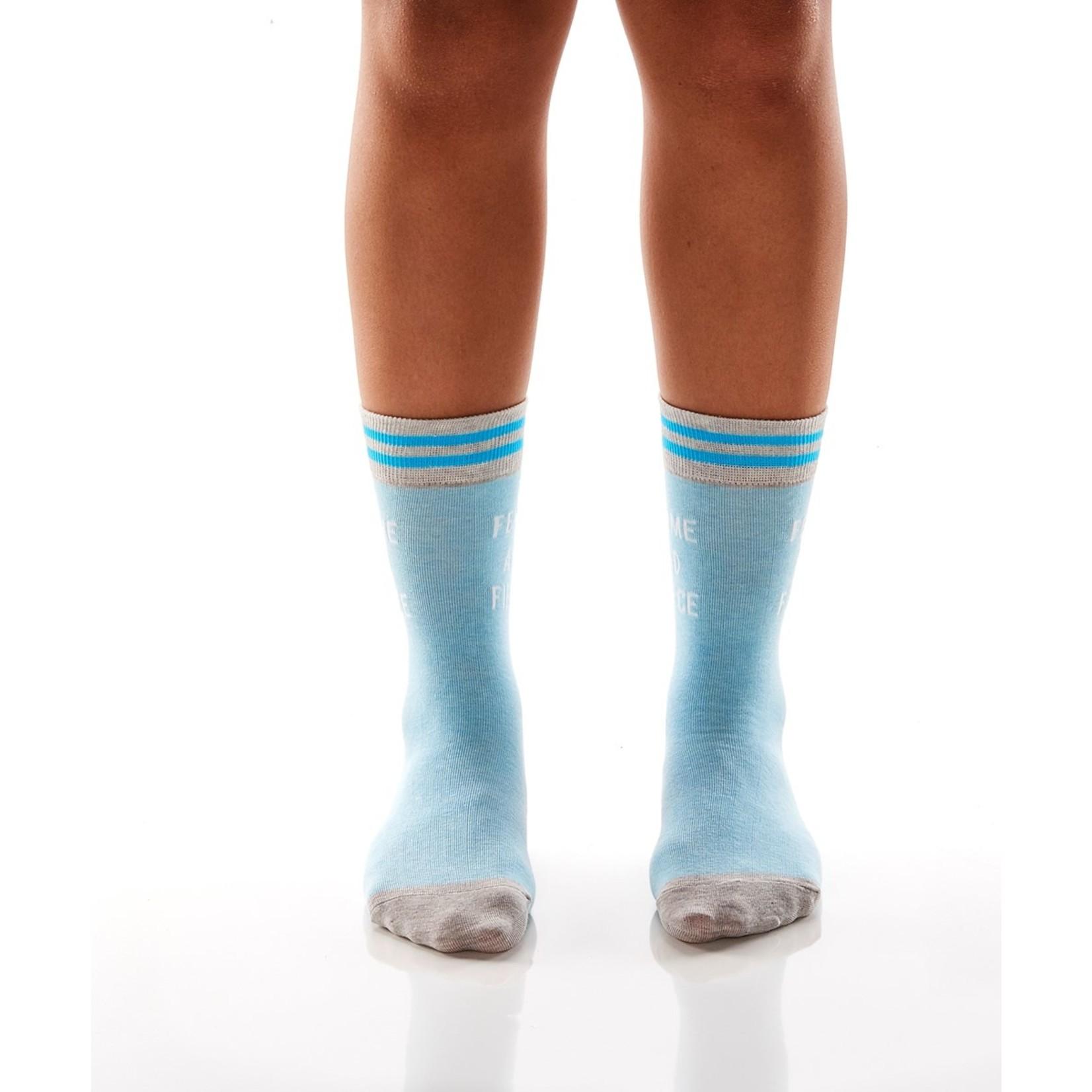 Femme And Fierce Women's Crew Socks