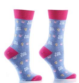 Boss Babe Women's Crew Socks