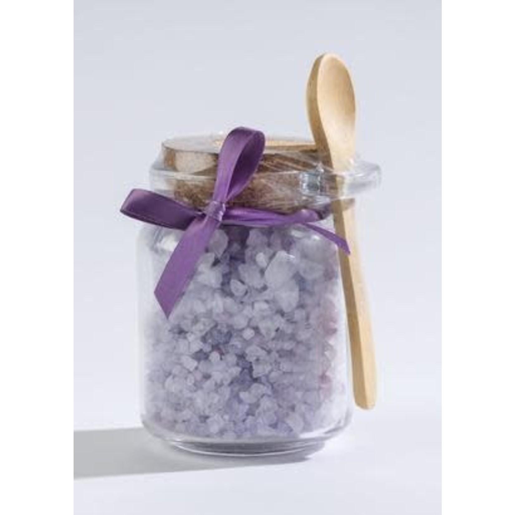 Sonoma Lavender Bath Salts in a Honey Jar w/Wood Scoop