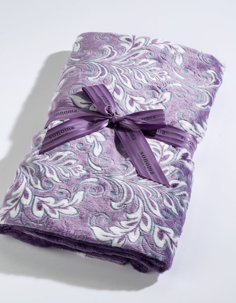 Sonoma Lavender Lavender Spa Blankie/Violetta