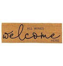All Wines Welcome Door Mat