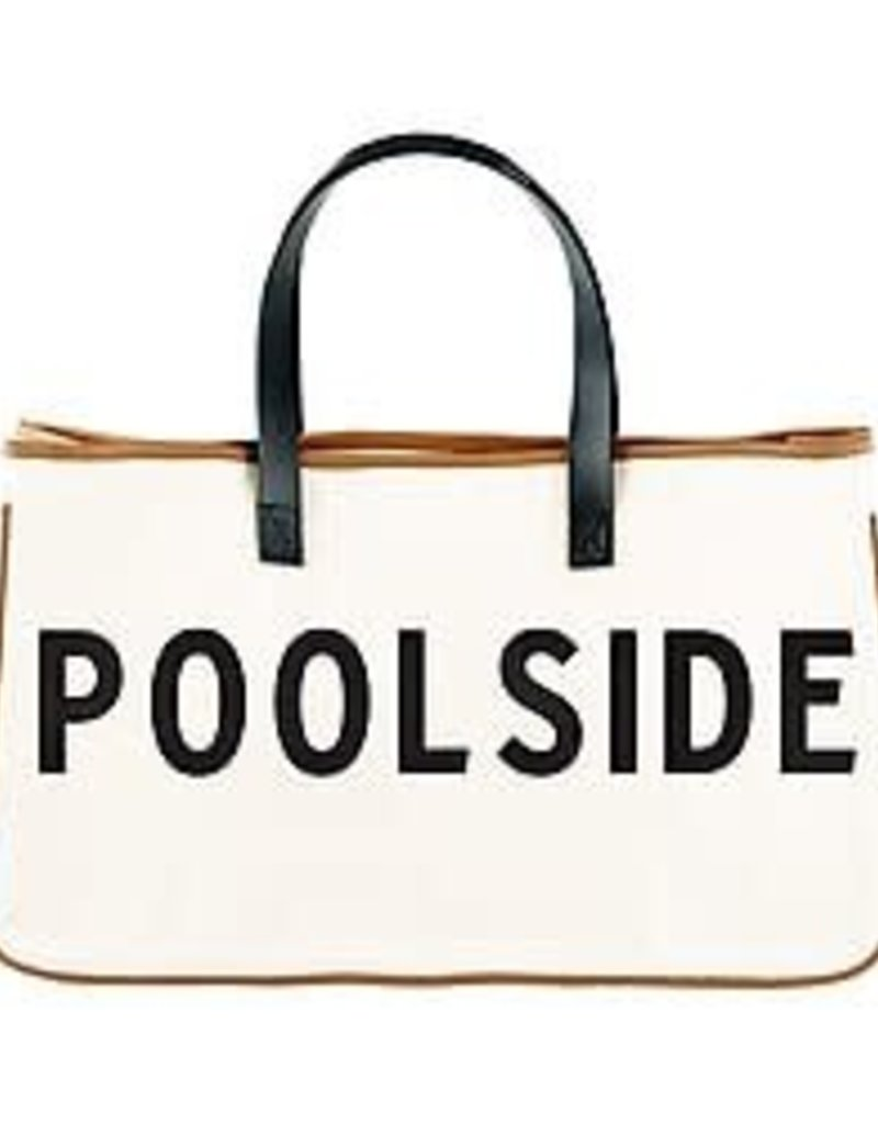 Tote/Canvas Poolside
