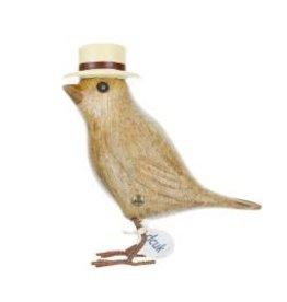 Dcuk Bamboo Garden Bird w/Brown Panama Hat