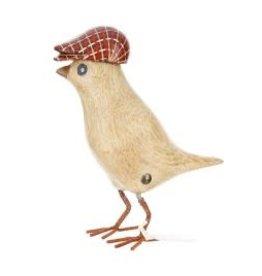 Dcuk Bamboo Garden Bird w/Red Cap
