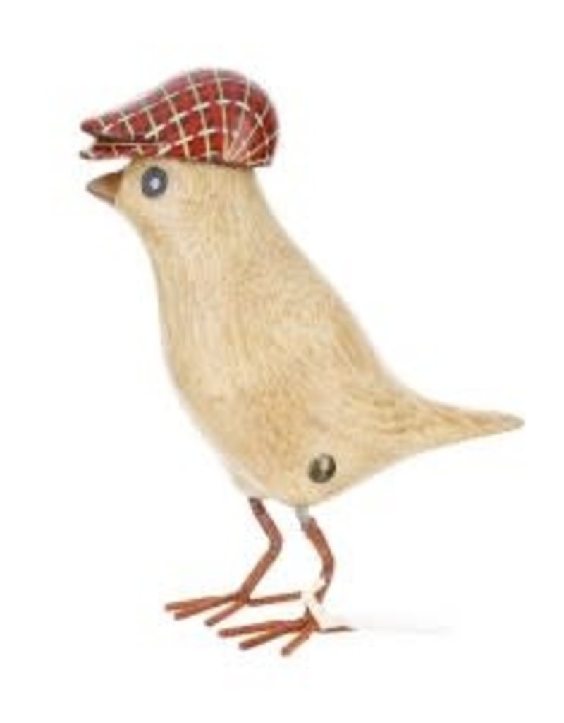 Dcuk Bamboo Garden Bird w/Red Cap