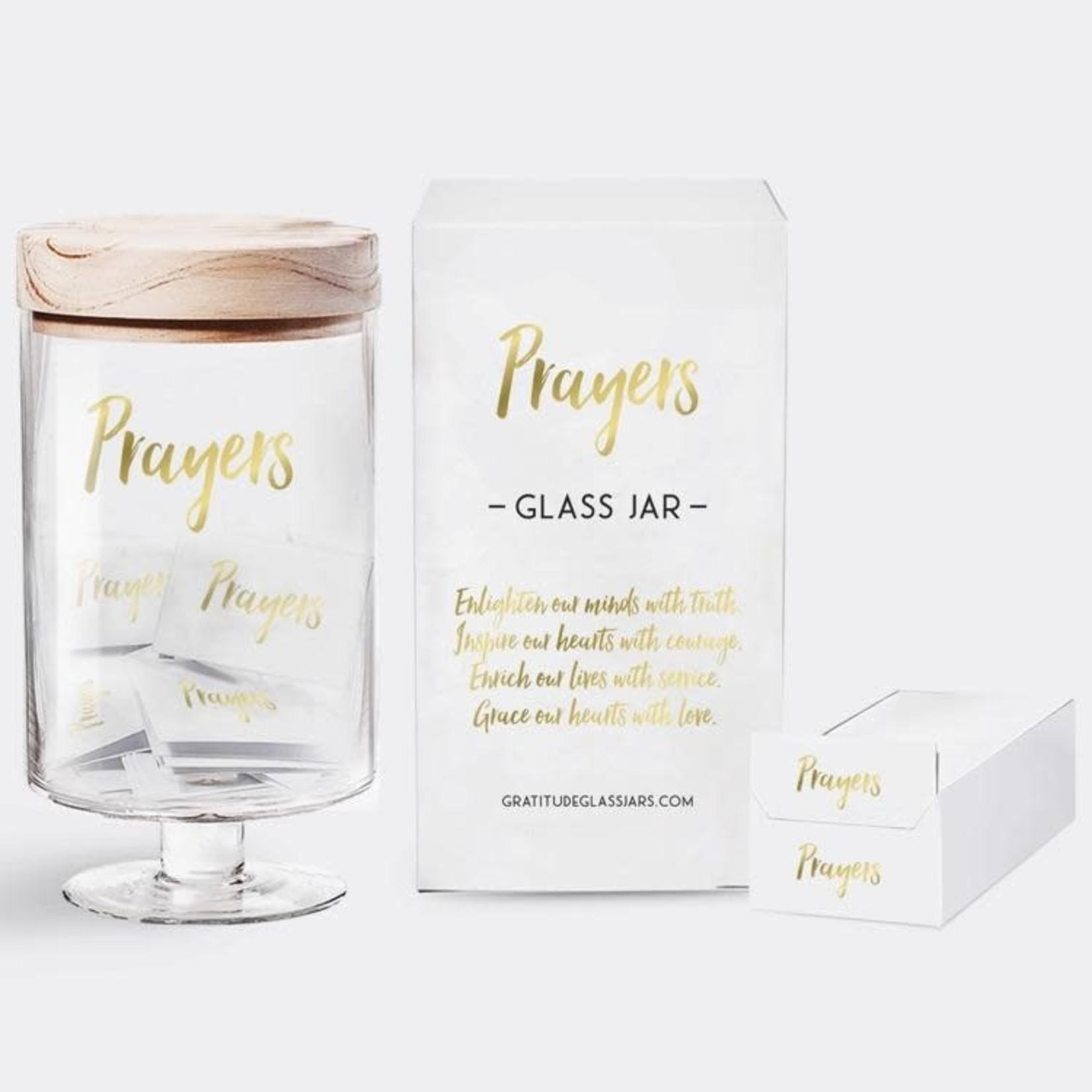 Gratitude Glass Jars Inspirational Prayers Glass Jar