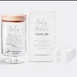 Gratitude Glass Jars Inspirational Baby Wishes Glass Jar