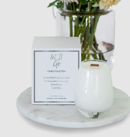 Gratitude Glass Jars LET IT GO Scented Soy Candle